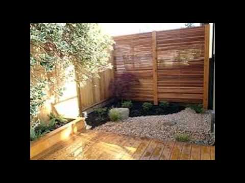 Garden Screening Privacy Ideas YouTube - Backyard screening ideas