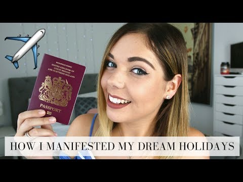HOW I MANIFESTED MY DREAM HOLIDAYS | LAW OF ATTRACTION | Emma Mumford