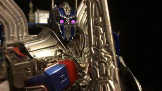 Transformers: The Last Knight Stop Motion PART 4! (1,000 Subscriber Special!)