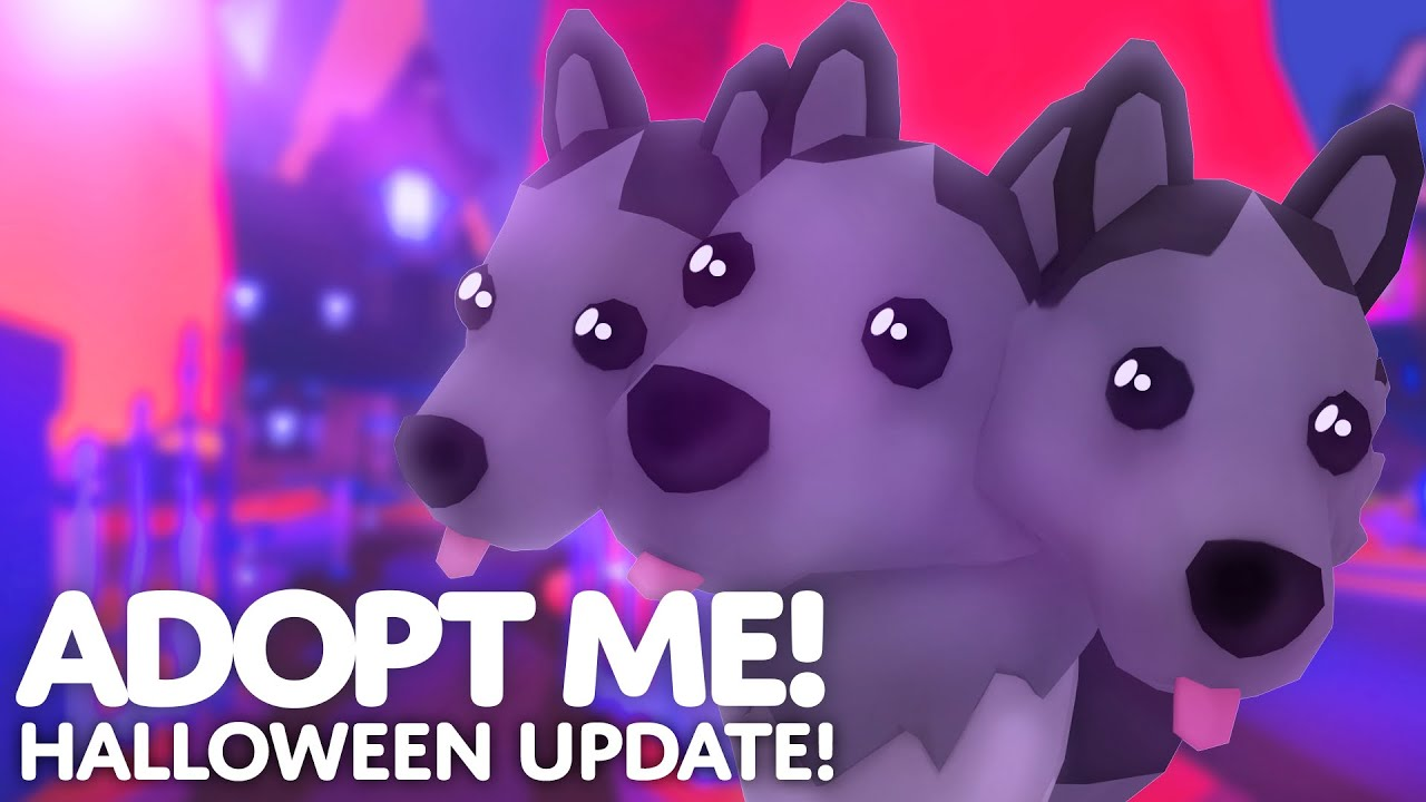 Halloween Update Ghost Bunny Invasion In Adopt Me On Roblox Youtube