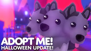 🎃 HALLOWEEN UPDATE 👻🐰 Ghost Bunny invasion in Adopt me! on Roblox