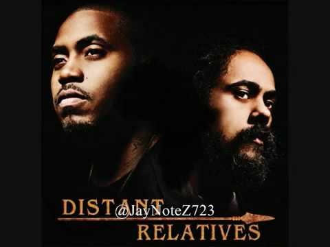 Damian Marley  Nas - Nah Mean (instrumental)