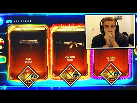 """new bo3 """"GRAND SLAM"""" bundle..(opened 3 DLC WEAPONS in 1 SUPPLY DROP) - NEW FREE DLC WEAPON BRIBE!"""