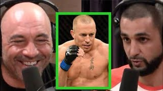 Joe Rogan - How GSP Prepares For A Fight