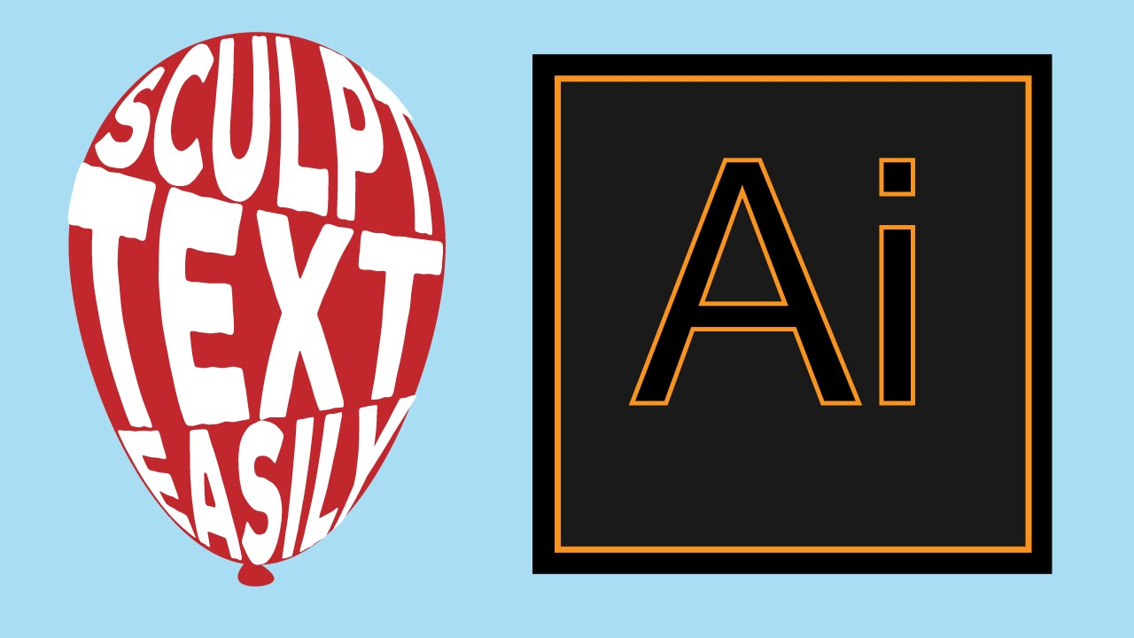 Easily sculpt text to object size in adobe illustrator youtube easily sculpt text to object size in adobe illustrator buycottarizona