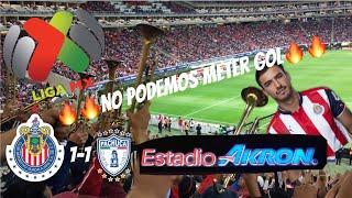 CHIVAS VS PACHUCA 1-1 RESUMEN GOLES CLAUSURA 2018 JORNADA 8 LIGA MX