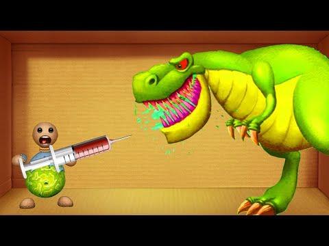 Buddy DIAMON vs DInosaurs T-Rex S Buddy BIO - Kick The Buddy Best Game