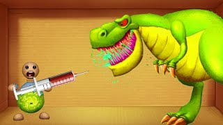 Buddy DIAMON vs DInosaurs T-Rex S Buddy BIO - Kick The Buddy Best Game