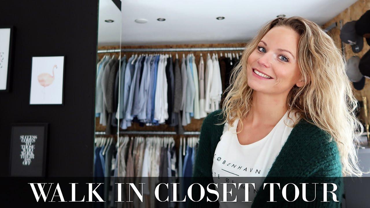 Inloopkast Walk In Closet.Walk In Closet Tour Een Kijkje In Mijn Inloopkast Youtube