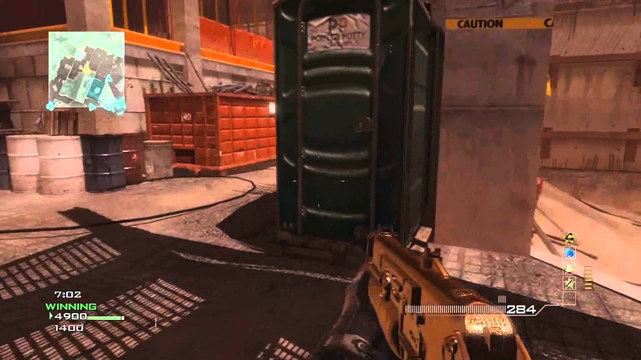 "MW3 Multiplayer Gameplay - ""Fast MOAB"""