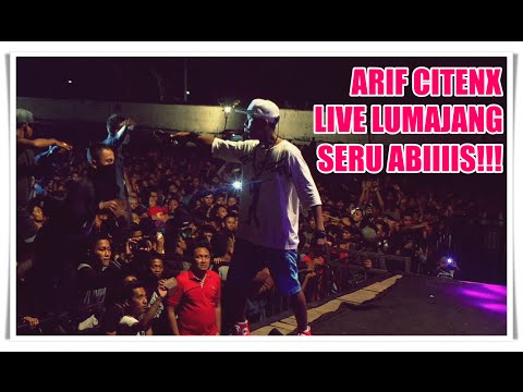 Arif Citenx - Ra Kuat Mbok | Live in Lumajang with ONE NADA Music