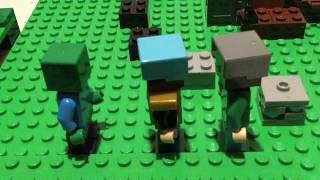 Ultimate Lego Minecraft Hunger Games 14 Part 2: No Skill Just Hacks