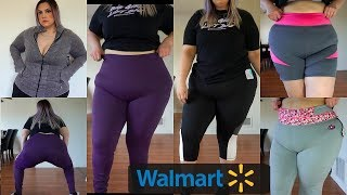 WALMART Plus Size Leggings Haul | Try on (*see though test*)