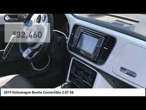 2019 Volkswagen Beetle Convertible 2019 Volkswagen Beetle Convertible 2.0T SE FOR SALE in Corona, CA