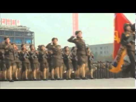 Kim Jong Un s mini skirted robot army North Korea s female ...