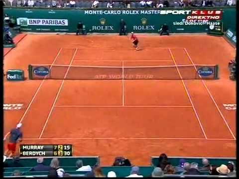 Andy Murray vs Tomas Berdych - ATP Monte Carlo 2012 Highlights