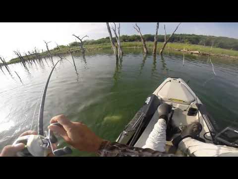 Kayak Bass Fishing - Lake Amon Carter