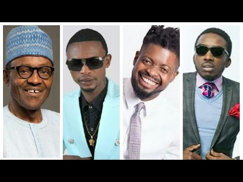PRESIDENT BUHARI,I GO DYE, BOVI & BASKET MOUTH IN COLLISION (Nigerian Music & Entertainment)