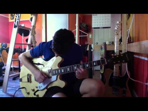 Blues Solo With New Epiphone Casino | Alec DeCaprio