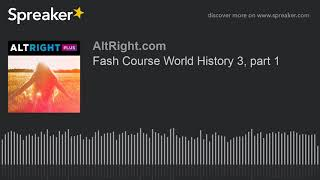 fash course world history 3 part 1