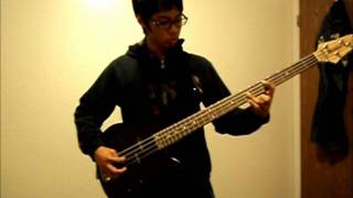 Slapshock - Agent Orange (Bass Cover / No Bass Slap)