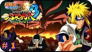 Naruto Shippuden Ultimate Ninja Storm 3 GAMEPLAY PARTE 1 EL ZORRO ATACA
