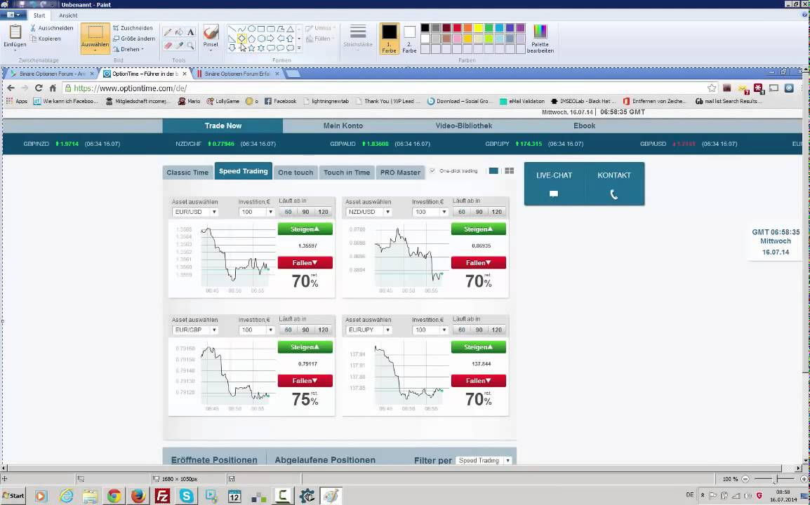 binary option investment strategy