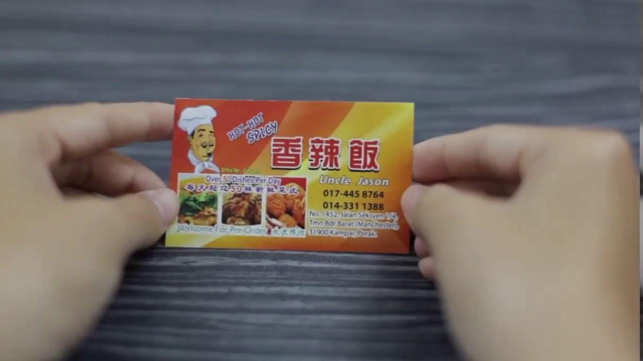 Shah Alam Name Card Printing, Shah Alam Print Name Card, Shah Alam ...