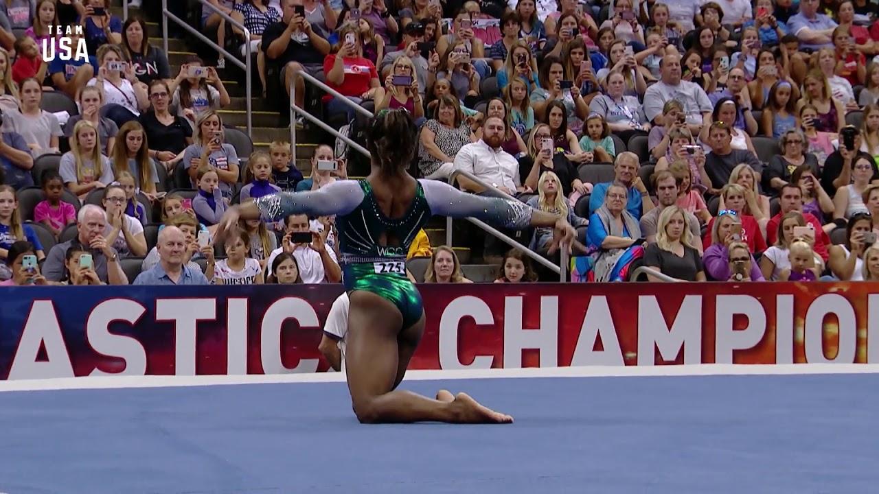 Simone Biles Floor Routine | Champions