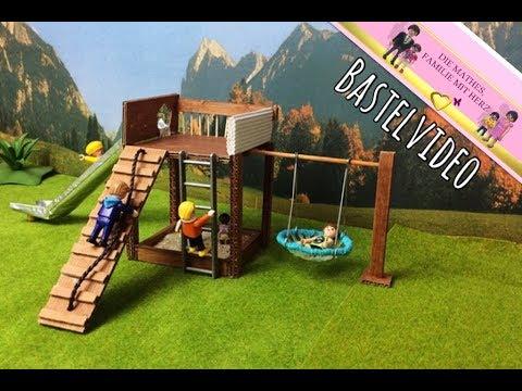 Playmobil Klettergerüst : Playmobil spielturm mit rutsche bastel video für