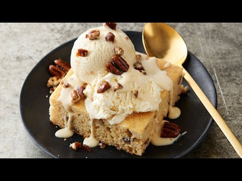 Copycat Applebee's™ Butter Pecan Blondies