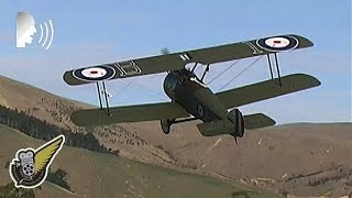 World War One Dogfight: This video shows a WW1 Sopwith Canel biplan...
