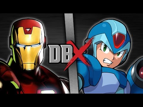 DBX: Iron Man VS Mega Man X (Marvel VS Capcom)