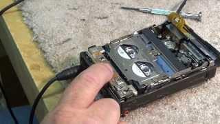 Sony TCD-D3 DAT Walkman overhaul