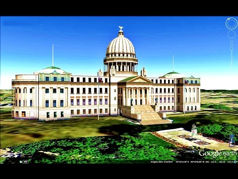 HISTORICAL PLACES OF MISSISSIPPI STATE,U S A  IN GOOGLE EARTH