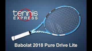 Babolat 2018 Pure Drive Lite Tennis Racquet Review | Tennis Express