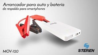 Arrancador de baterías para auto