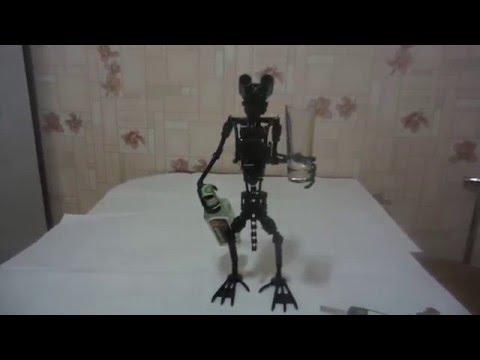 Как сделать робота из железа своими руками