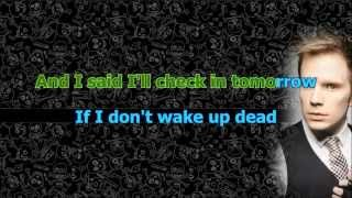 Fall Out Boy - Alone Together (Karaoke/Instrumental) with lyrics [Official Video]