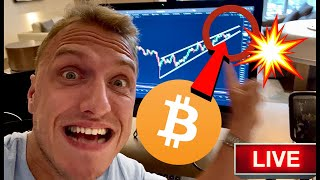 THIS INSANE BITCOIN PATTERN WILL BREAK RIGHT NOW!!!!!!!! [this is my next trade]