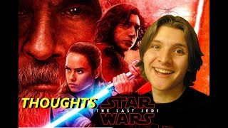 Star Wars The Last Jedi movie Thoughts and Reactions! NO SPOILERS!