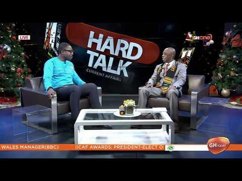 DR THOMAS MENSAH, SCIENTIST & INVENTOR SPEAKS ON   HIGH SPEED TRAIN FOR GHANA ON GHTODAY HARDTALK