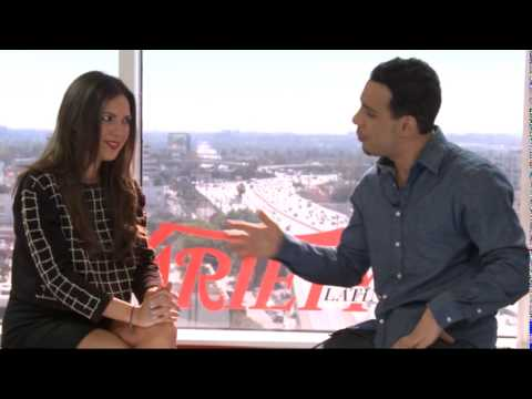 Victor Rasuk  with Variety Latina In Spanish 2015
