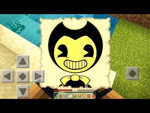 I FOUND A BENDY MAP In Minecraft Pocket Edition! *SCARY*