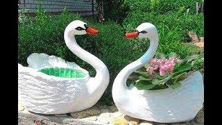 як зробити з гіпсу лебедя