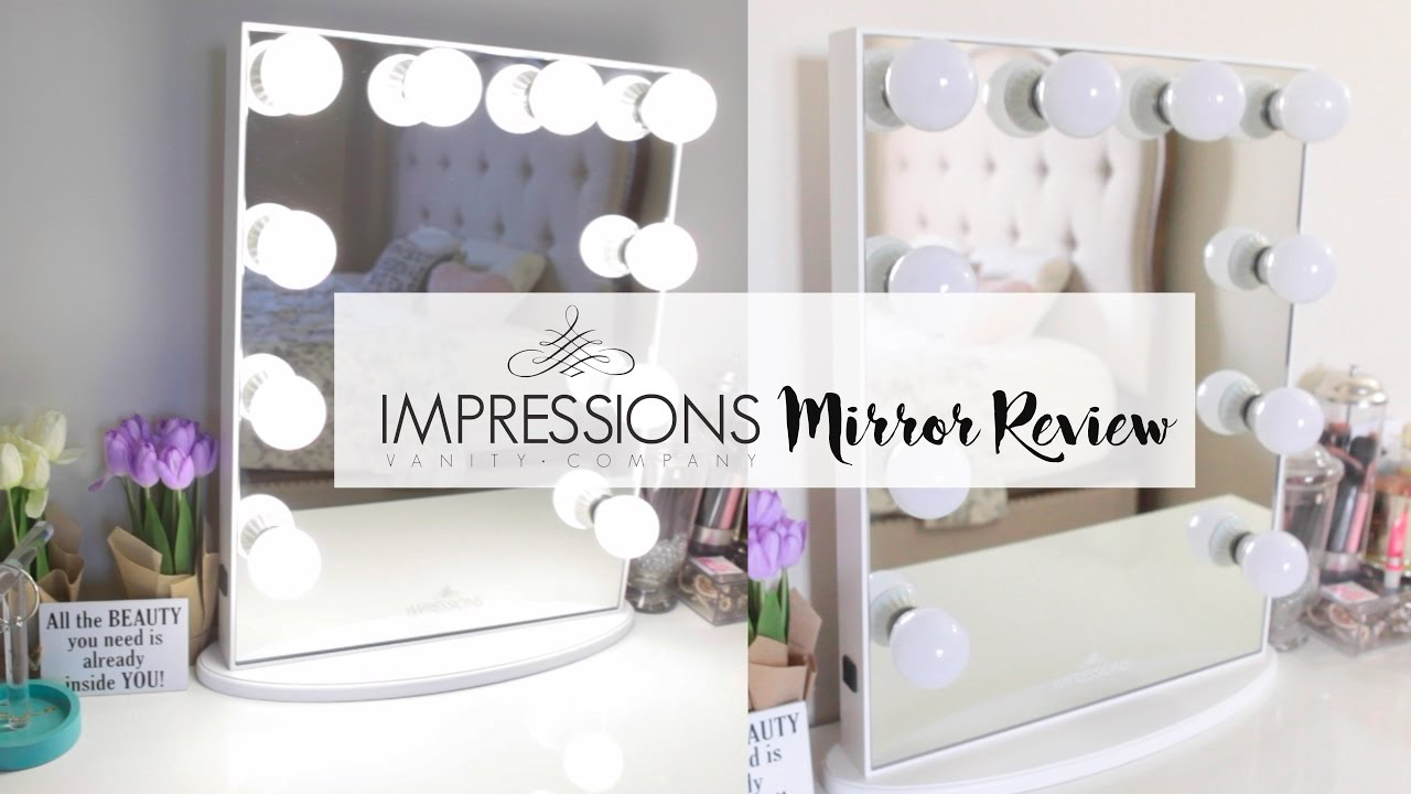 Impressions Vanity Mirror Review Youtube