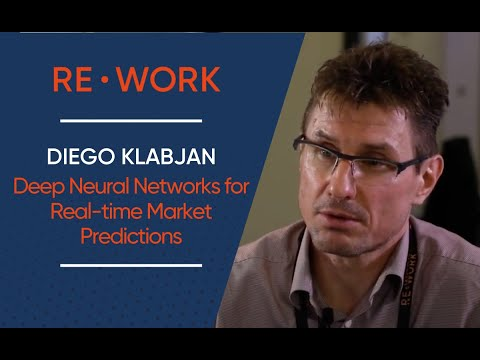 Diego Klabjan, Professor, Northwestern University - Deep Learning in Finance Summit 2016 #reworkfin