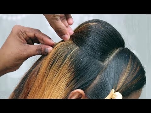 Repeat Party Bun Hairstyle With A Trick Bridal Hairstyle