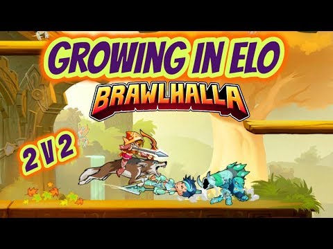 Brawlhalla | Father And Son - Ranked 2V2 - Growing In Elo