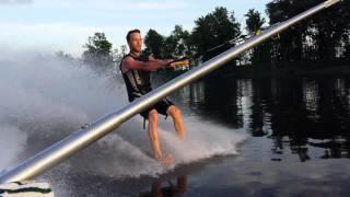 Barefoot run on my Jcraft boat
